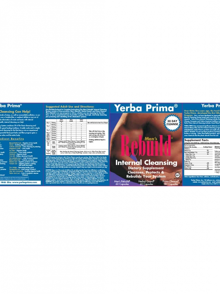 Yerba Prima Men's Rebuild® Kit