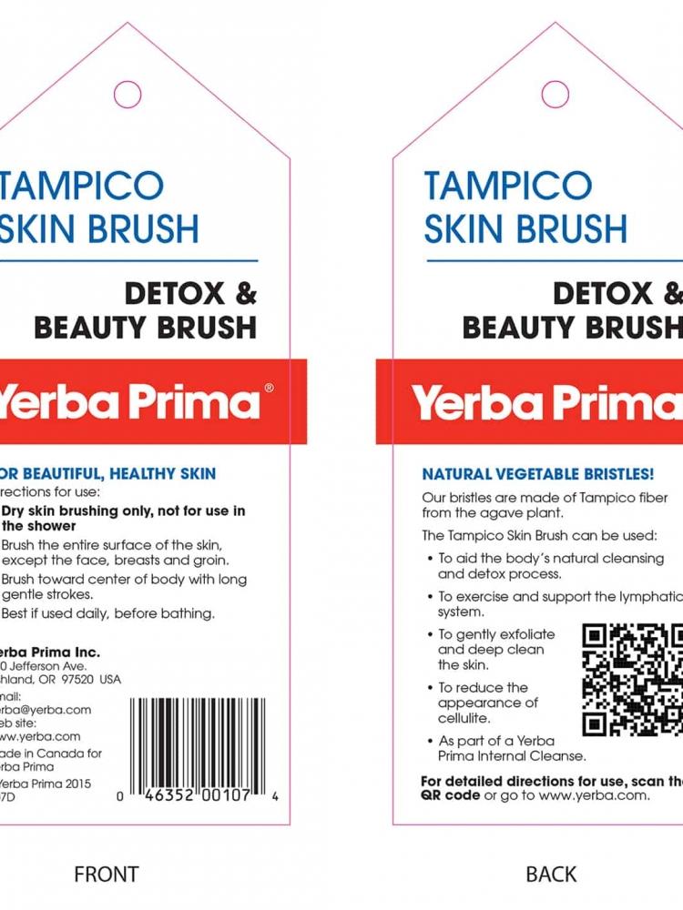 Yerba Prima Tampico Skin Brush