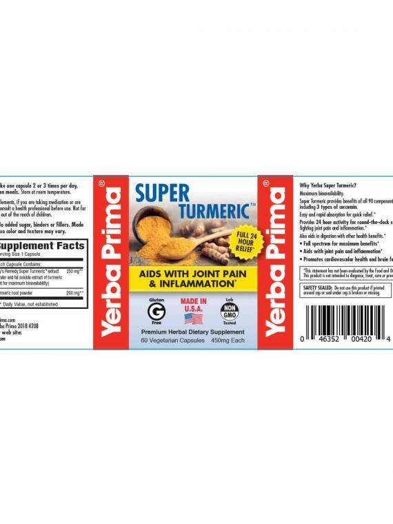 Yerba Super Turmeric