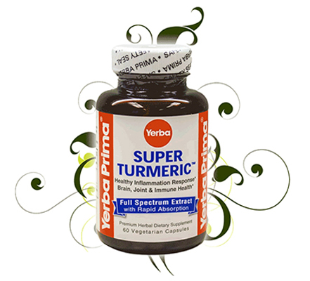 Yerba Super Turmeric | THE WORLD'S MOST BIOAVAILABLE TURMERIC PRODUCT - SAVE 30% + FREE shipping with code TURMERIC30