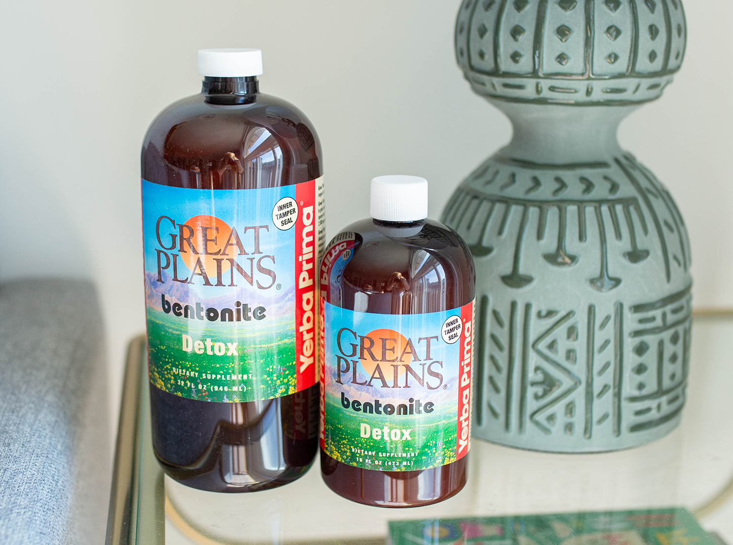 TIME TO DETOXIFY. THE BEST-SELLING GREAT PLAINS BENTONITE IN PINT AND QUART ARE FINALLY BACK IN STOCK!